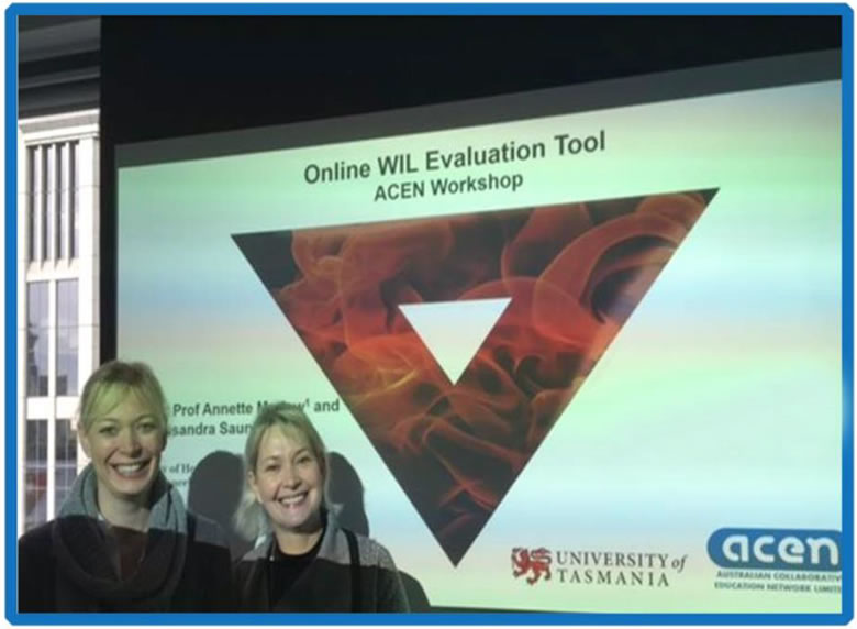 Online WIL Evaluation Tool – ACEN Vic/Tas