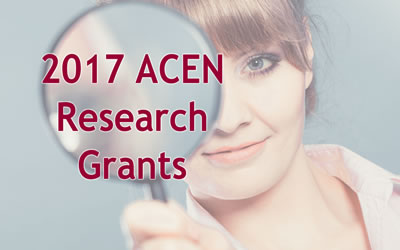 Successful ACEN research grants announced