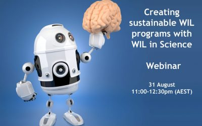 Creating sustainable WIL programs with WIL in Science – webinar