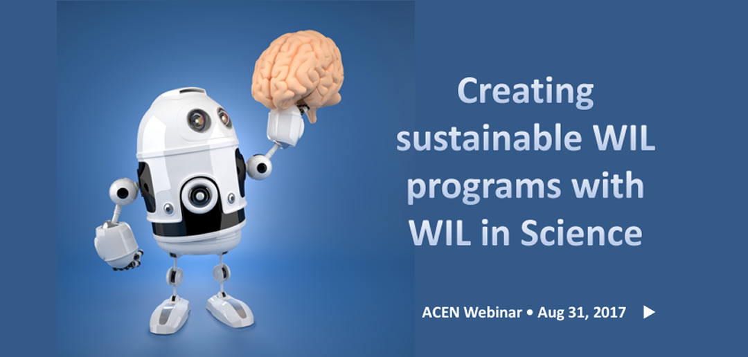 Webinar recording – Sustainable WIL Programs in Science