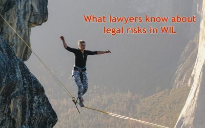 What lawyers know about legal risks in WIL – webinar