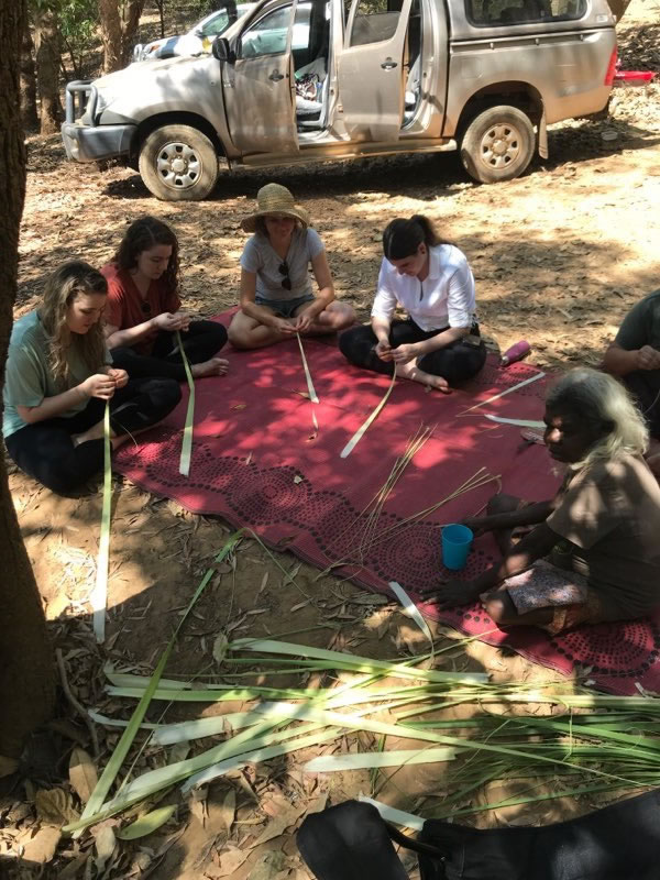 Weaving at Katherine
