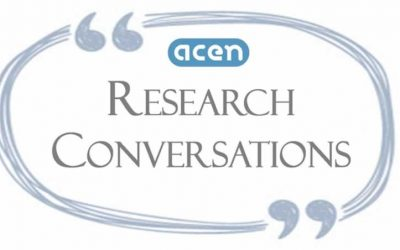 ACEN Research Conversations: Masters/Doctoral (PhD) candidate or Early Career Researcher (ECR) investigating Work-Integrated Learning