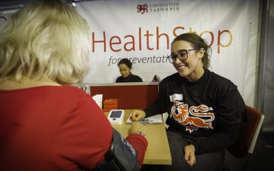 HealthStop@Agfest: Student-led health promotion at a community event