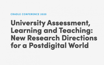 CRADLE Conference 2020 – registrations now open! – Centre for Research in Assessment and Digital Learning (CRADLE), Deakin