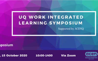 UQ Work Integrated Learning Symposium