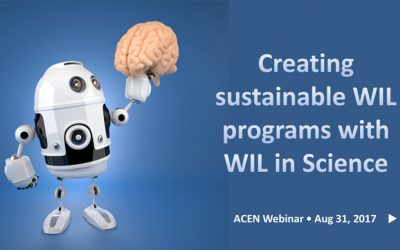 Creating sustainable WIL programs with WIL in Science – webinar recording