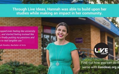 Live Ideas: Partnering community and industry with staff and students through engaged learning and research experiences