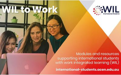 WIL to Work: enhancing international student capacity through Work Integrated Learning