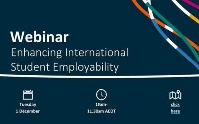 Department of Education, Skills and Employment Webinar: Enhancing International Student Employability