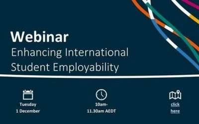 Department of Education, Skills and Employment Webinar: Enhancing International Student Employability